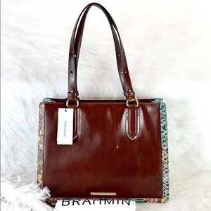 New Brahmin Medium Multi Hansen Camille Shoulder